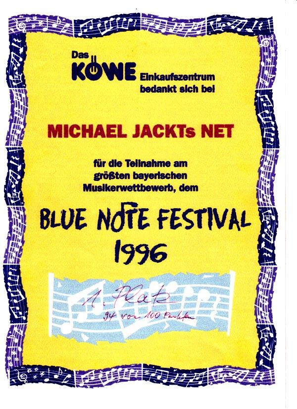 Blue Note Gewinner 1996